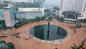 banjir bunderan HI Jakarta